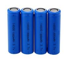 Marsnaska – batterie Lithium-Ion Rechargeable, 14500 mAh, 1300 V AA, 1/2/4/8/12, pour jouet