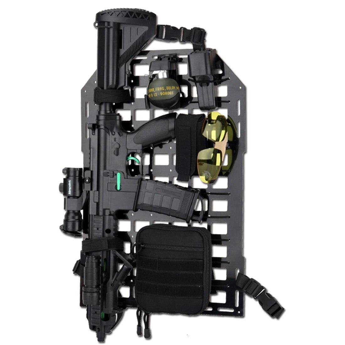 MODIKER WST panneau d'insertion tactique organisateur de dossier de siège de voiture équipement de dossier de siège tactique extérieur-noir