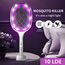 Electric USB Mosquito Killer Lamp Bug Zapper Muggen 370nm UV Insect Killer Anti Mosquito Trap Electrics For Home Fly Swatter