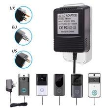 Für Wifi Wireless Video Türklingel Kamera Power Adapter US UK EU Stecker 18V AC Transformator Ladegerät IP Video Intercom ring 110V 240V