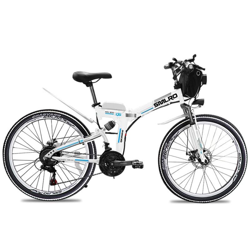 MX300 2019 New Design 350W/500W/750W/1000W 48V 10AH/13AH electric bicycle 26 inch folding electric bike with high quality 2