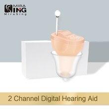 2020 Hörgeräte audifonos NEUE Kleine Inneren Ohr Unsichtbare Hörgerät CIC Mini Im Ohr Sound Verstärker Dropshipping