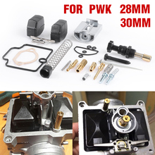 For PWK 28mm 30mm Motorcycle Carburetor repair kit with spare jets sets replacement For PWK KEIHIN OKO Motorcycle Parts Jets