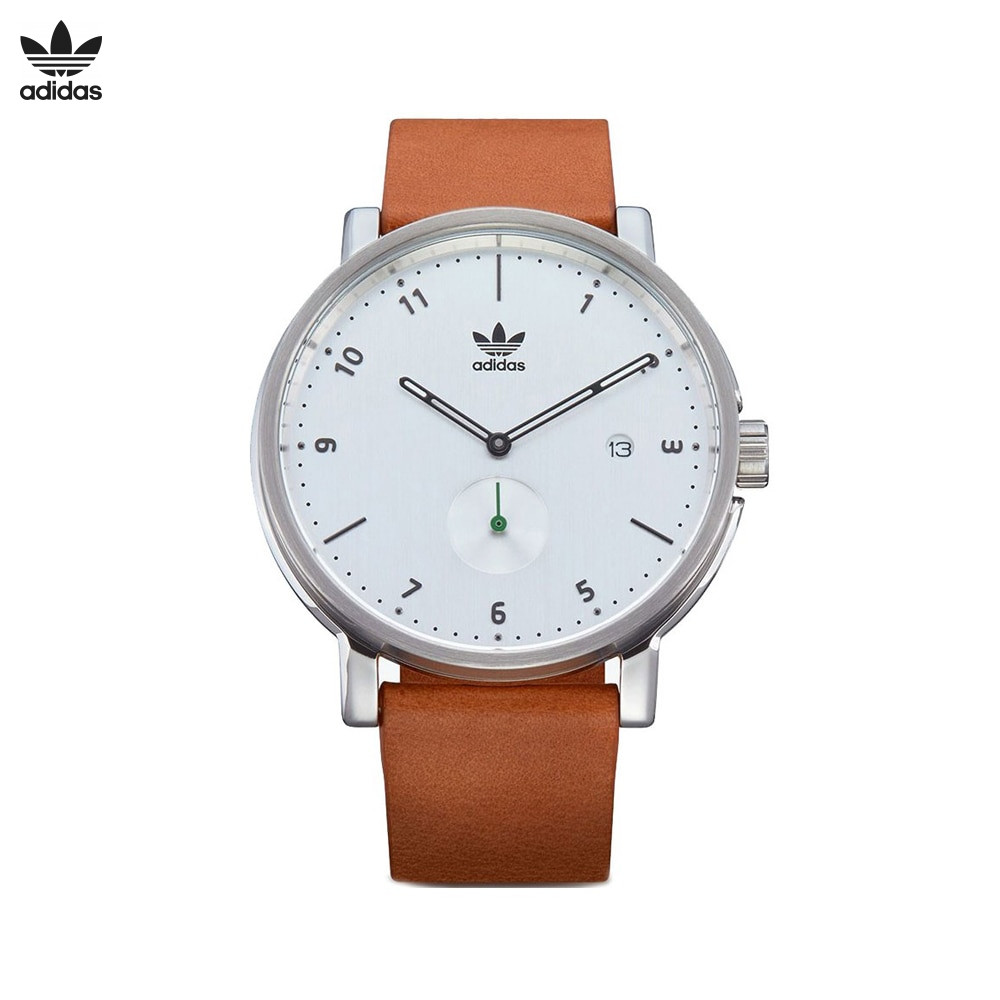 Наручные часы Adidas Z12 3039 00 мужские кварцевые на кожаном ремешке|Спортивные часы|   | АлиЭкспресс