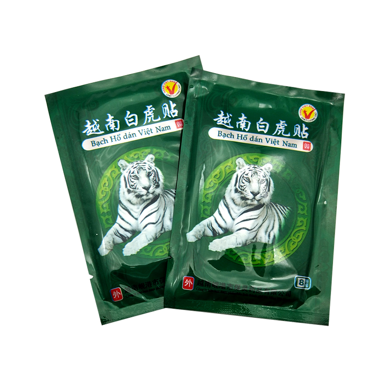 16Pcs Vietnam White Tiger Balm Pain Patch Muscle Shoulder Neck Arthritis Chinese Herbal Medical Plaster
