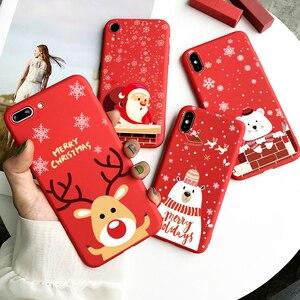 For Huawei Y5p Y8p Y6p Y7p Christmas Case For Honor Play 9A 9S 9C X10 10 20 9 Lite 30 S 10i 8A 8X 9X Nova 5T 7 Pro SE TPU Fundas