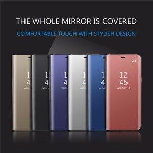 Image 5 - スマートミラーフリップ電話のカバーoppo realme 8プロケースRealme8 realmi realmy 8Pro Realme8pro磁気coque fundas
