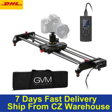 80cm Studio Camera Slider Track Dolly Video Stabilizer Rail Carbon Fiber 120 Degree Panoramic Shooting Auto cycle Time lapse