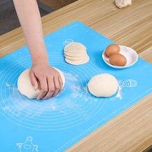 Утолщенный силиконовый коврик для раскатки теста инструменты