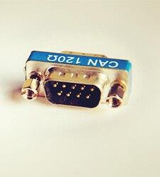 Can bus termination resistor-db9 revolução mãe-built-in 120 ohm-valuecan-vector-etas compatível