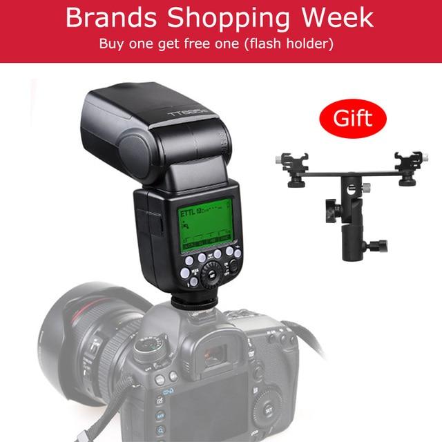 Godox TT685 TT685C TT685N TT685S TT685F TT685O פלאש TTL HSS מצלמה פלאש speedlite עבור Canon Nikon Sony Fuji אולימפוס מצלמה