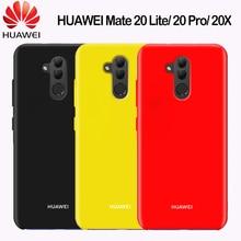 Huawei Mate 20 Lite Case Original Huawei Mate 20 30 Pro 20X X  P Smart Z 2019 Case Liquid Silicone Soft Shockproof Back Cover