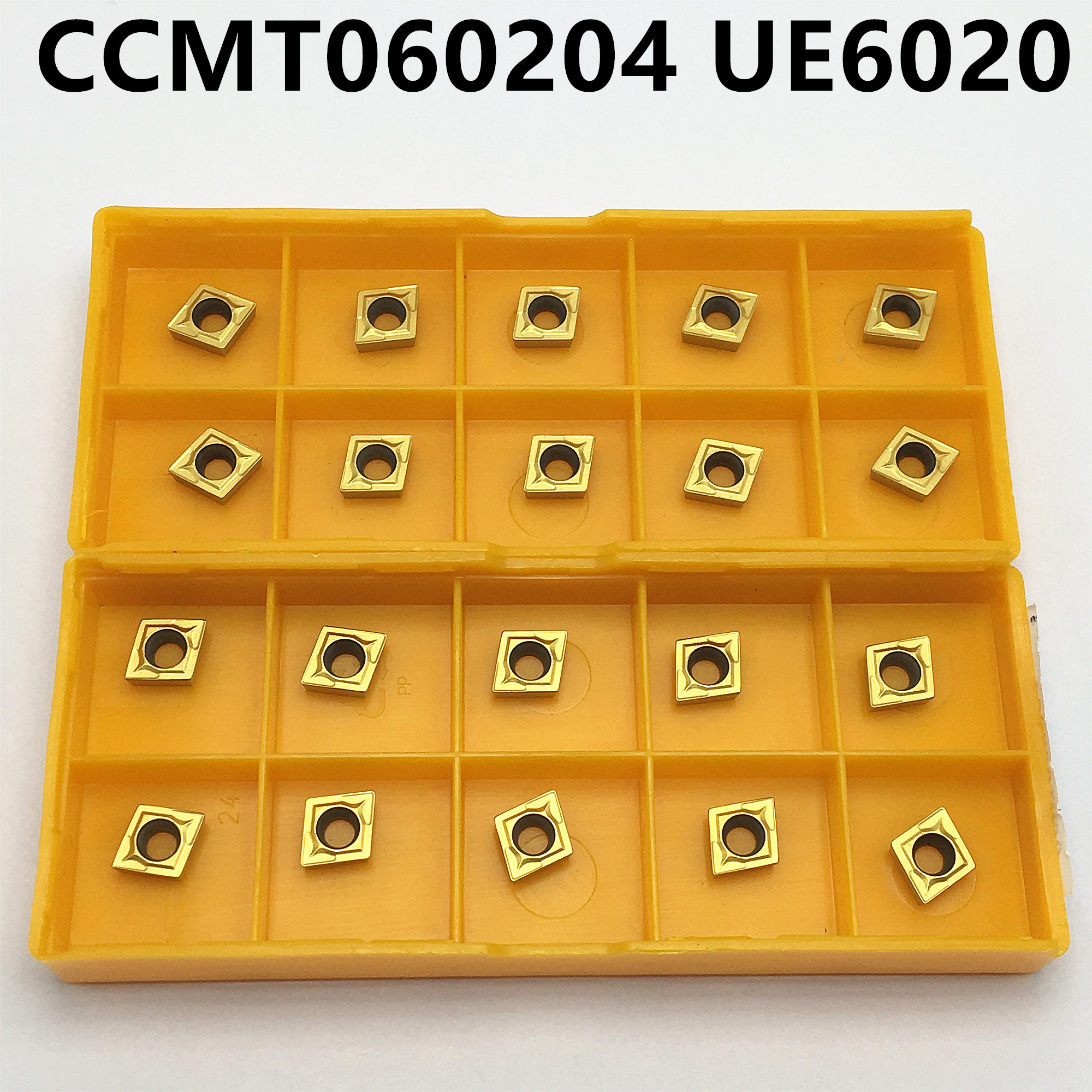 Carbide Insert CCMT060204 UE6020 CCMT060204 US735 CCMT060204 VP15TF Cutting Tool CNC Turning Tool CCMT 060204 Milling Cutter