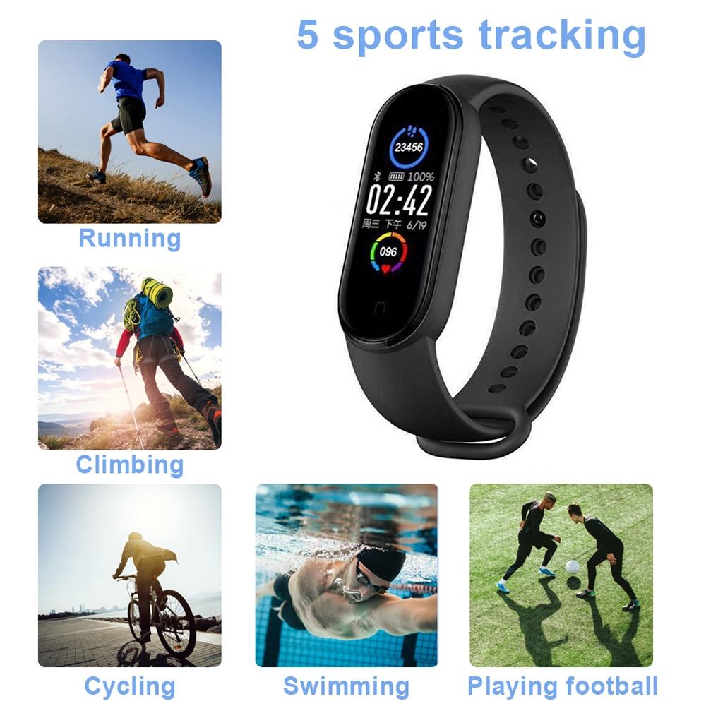 de fitness bluetooth pulseiras inteligentes ios android