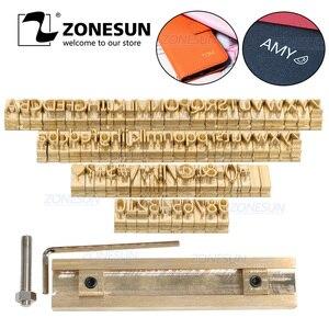 ZONESUN Brass Alphabet Letters
