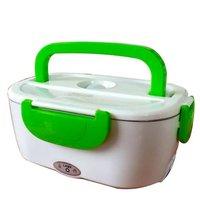 220 v portátil de aquecimento elétrico lancheira comida grau recipiente de alimentos aquecedor de alimentos louça conjuntos de lancheira elétrica dupla camada|Lancheiras| |  -