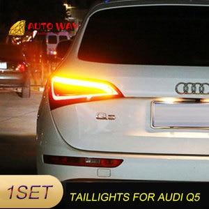 Image 4 - Araba Styling arka lambası park lambaları durumda Audi Q5 arka lambası 2009 2015 LED kuyruk lambası arka bagaj lambası Audi Q5 arka lambaları