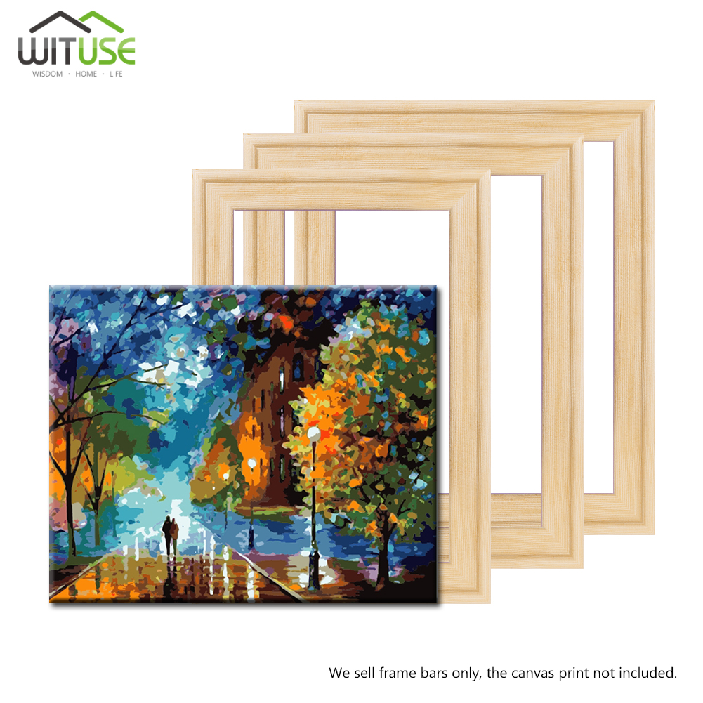 Wood frame Professional Factory Price Stretcher Bars DIY For nature canvas Oil Diamond Painting Wall Art DIY picture inner Snap