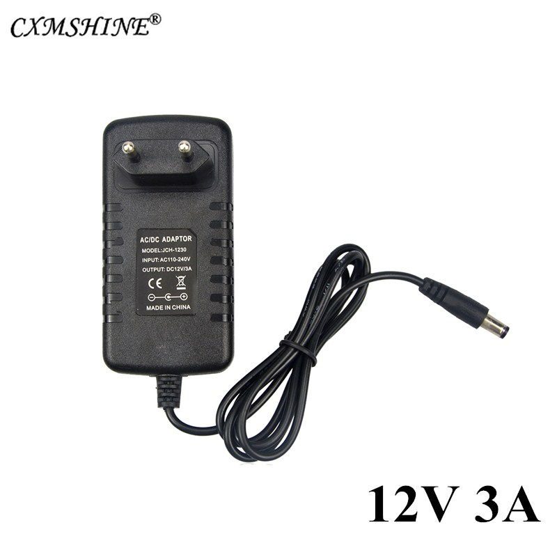 DC12V 3A Lighting Transformer for LED Strip Light Switching Power Adapter Driver Led Strip Power Supply