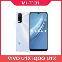Vivo iqoo u1x 4g/6g 64g android 10 telefone móvel snapdragon 662 octa núcleo 5000mah bateria 18w carga rápida 6.51