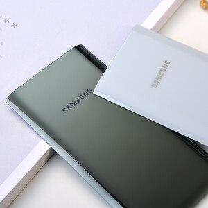 Image 3 - מקורי Samsung A80 סוללה כיסוי אחורי דיור זכוכית דלת אחורי החלפת מקרה עבור גלקסי A80 A 80 A805 SM A8050 תיקון חלקי