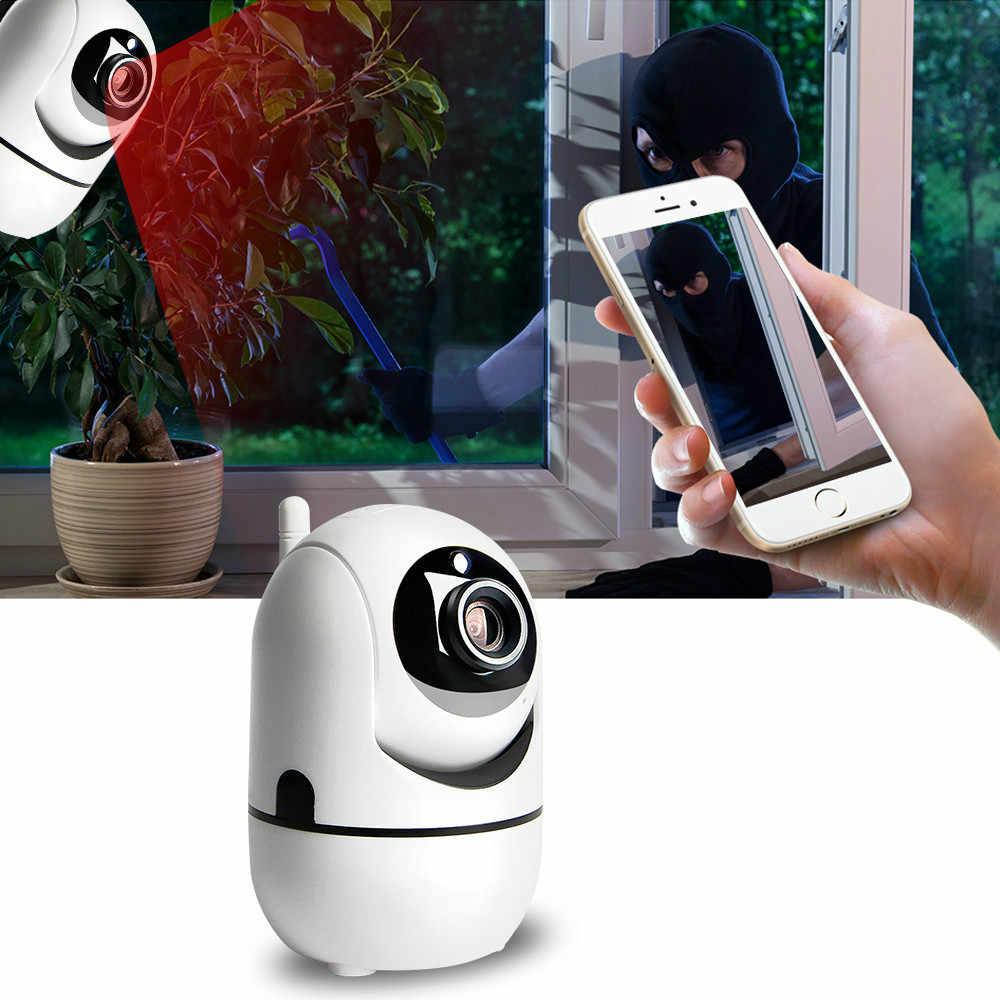 น่ารักWifiการติดตามอัตโนมัติมนุษย์Cloud Camera 1080Pกล้องIPไร้สายHome Securityกล้องวงจรปิดเครือข่าย