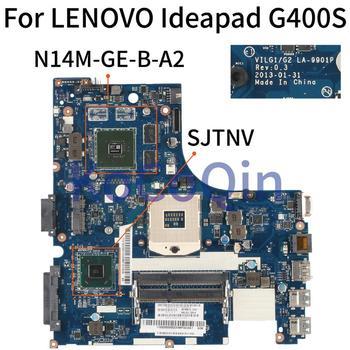 KoCoQin Laptop motherboard For LENOVO Ideapad G400S Core SJTNV Mainboard VILG1/G2  LA-9901P N14M-GE-B-A2