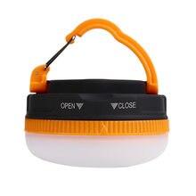 Minilanterna led com ímã para acampamento, bateria potente, 3w, lâmpada para camping, caminhadas ao ar livre, luz pendurada noturna