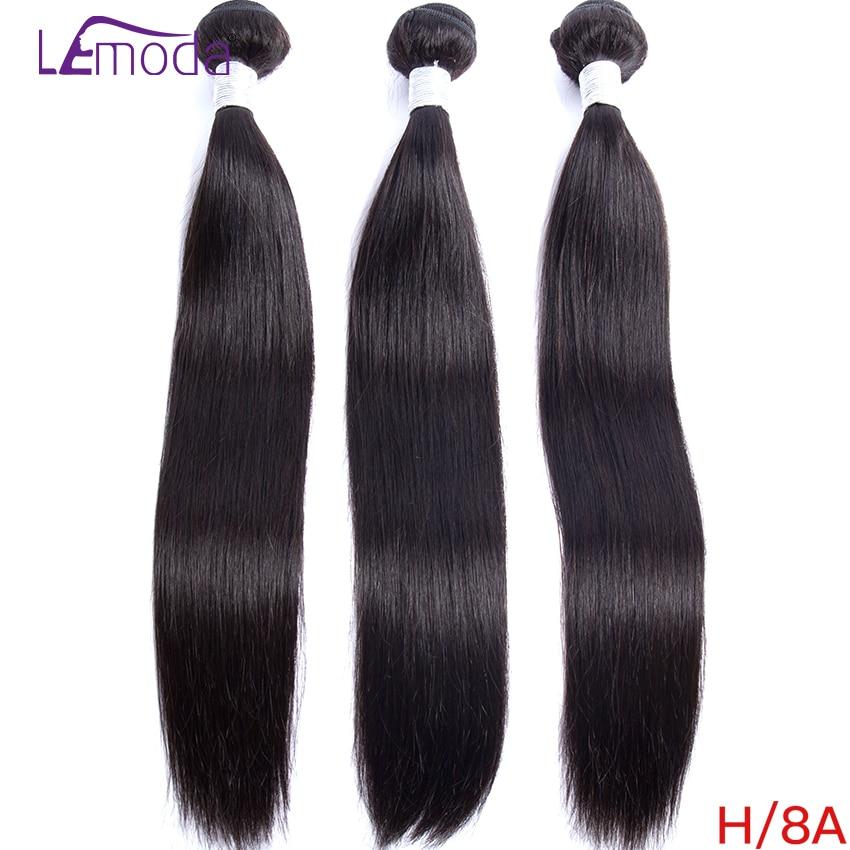 30 дюймов бразильские прямые волосы пряди 100% пряди человеческих волос для Lemoda Волосы Remy пряди человеческих волос для наращивания натуральны...