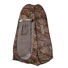 Outdoor Portable Privacy Shower Toilet Tent Camping Pop Up Tent Camouflage Changing Tent UV Function Dressing Tent цена