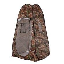 Tente de douche Portable d'extérieur pour toilettes, Pop-Up de Camouflage, changement de fonction UV, Dressing