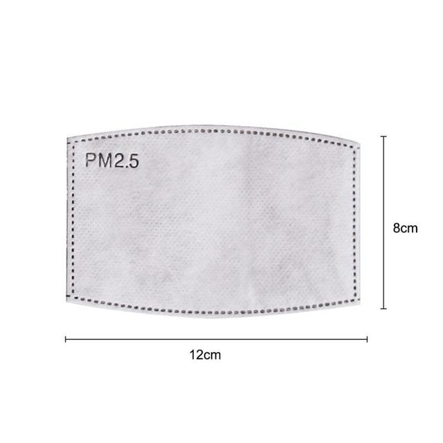 Cotton PM2.5 Black mouth Mask anti dust mask Activated carbon filter Windproof Mouth-muffle Dust Mask proof Flu Face masks care 4