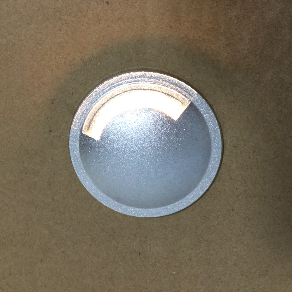 3W Garden Yard Step Stairs Floor Deck LED Recessed Inground Lamps Side buried light - 3