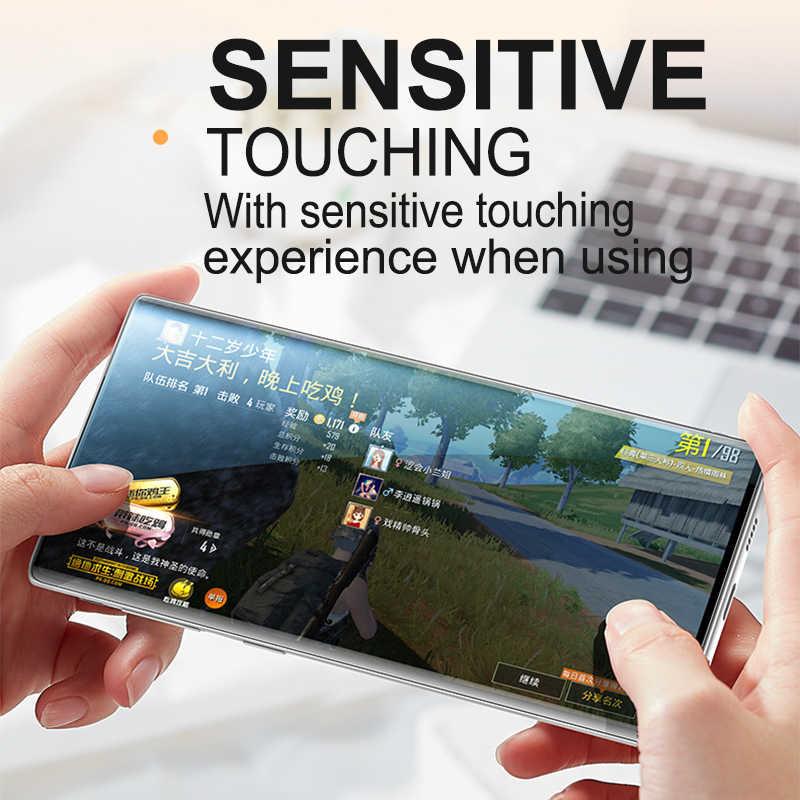 Lamorniea 20D Trước + Sau Bảo Vệ Màn Hình Trong Cho Samsung Galaxy Note 10 Pro S10 Plus S10 5G Note 9 8 S8 S9 Plus Hydrogel Mềm Phim