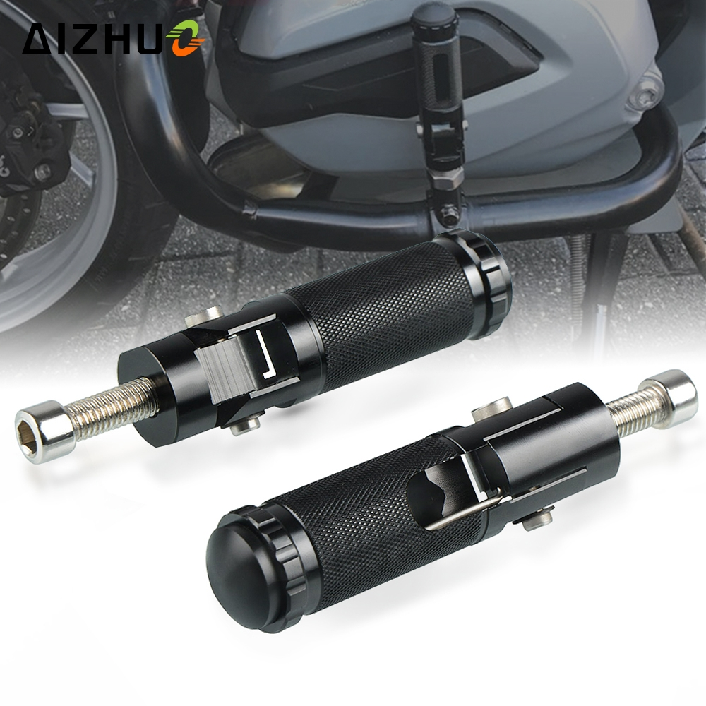Footrests Footpegs Motorcycle Accessory Foot Rests Pegs for honda CBR VFR CB <font><b>NSR</b></font> VTR CBF CBX 125 <font><b>250</b></font> 400 600 900 1000 CBR1100XX image
