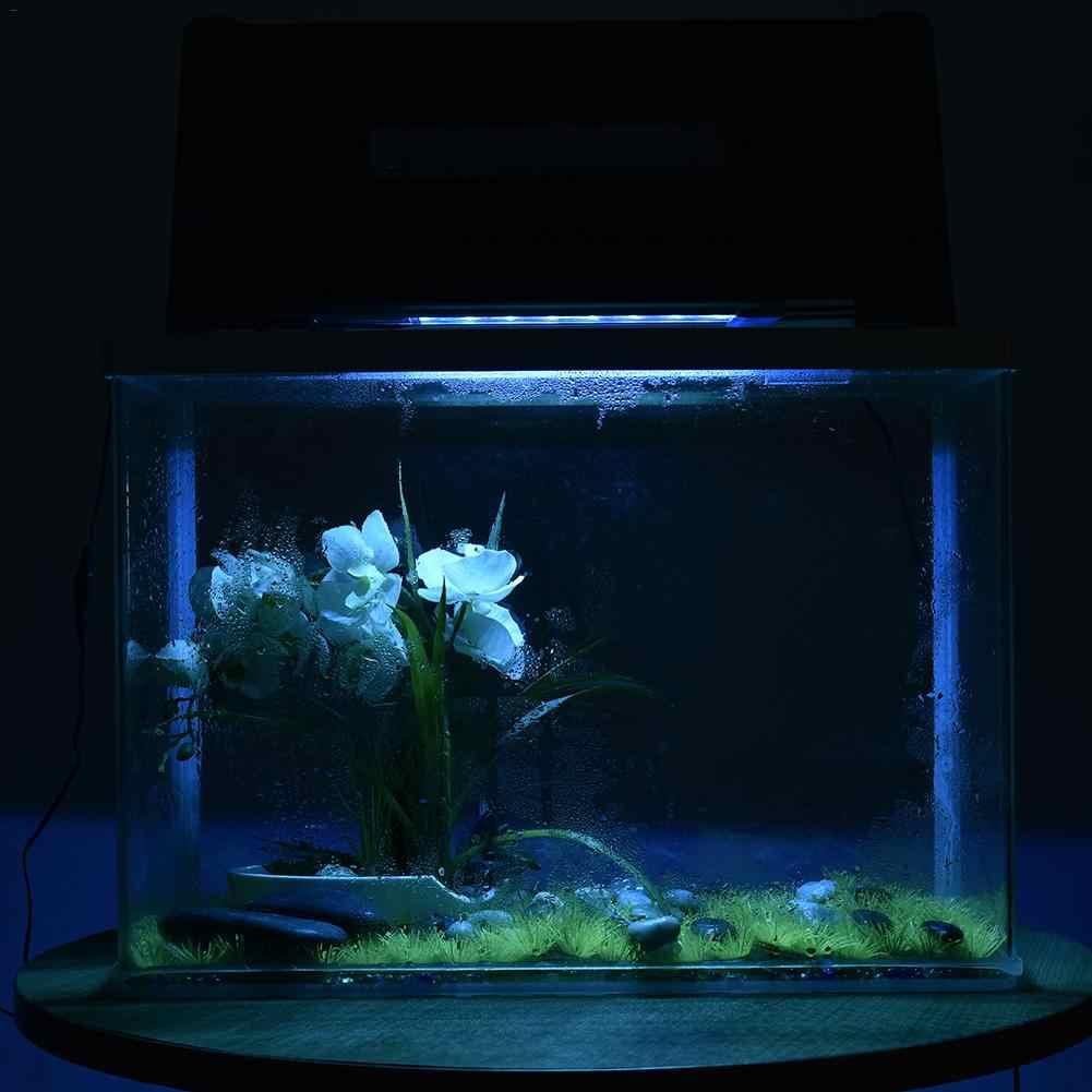 30-45 см аквариумный светодиодный светильник ing Fish Tank светильник с выдвижными кронштейнами 7 цветов светодиодный s подходит для аквариума