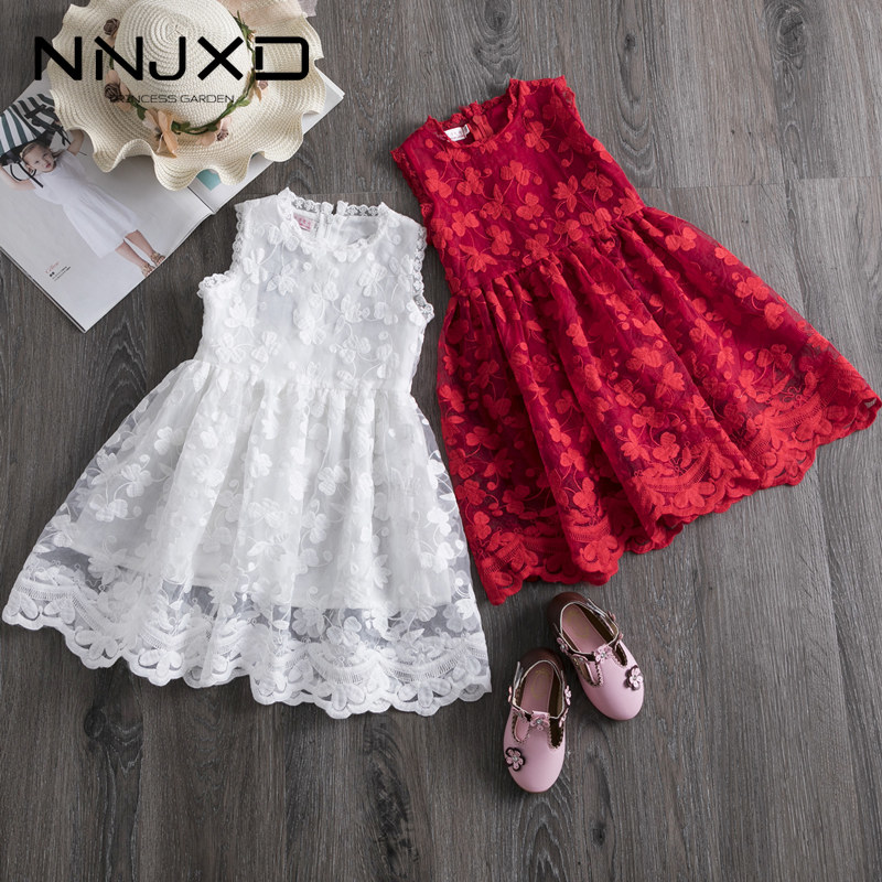 Girls Dress 2020 New Summer Brand Girls Clothes Lace And Ball Design Baby Girls Dress Party Dress For 3 8 Years Infant Dresses|Dresses|   - AliExpress