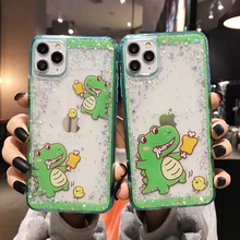 Luxury Glitter Phone Cover For Apple iPhone X XR XS 11 Pro Max 8 7 6S 6 Plus Case Cartoon  Soft Silicon TPU i6 i7 i8 Back Cases luxury glitter phone cover for apple iphone x xr xs 11 pro max 8 7 6s 6 plus case cartoon soft silicon tpu i6 i7 i8 back cases