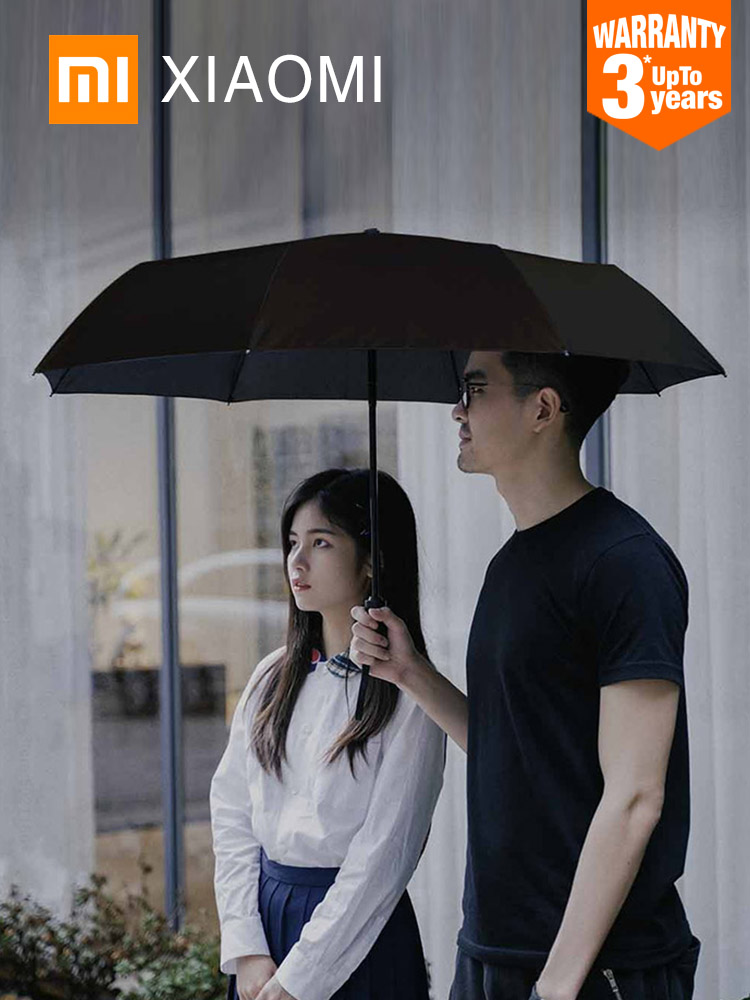 XIAOMI Sunny-Umbrella Oversized Beach-Parasol Portable Automatic Women Windproof Folding