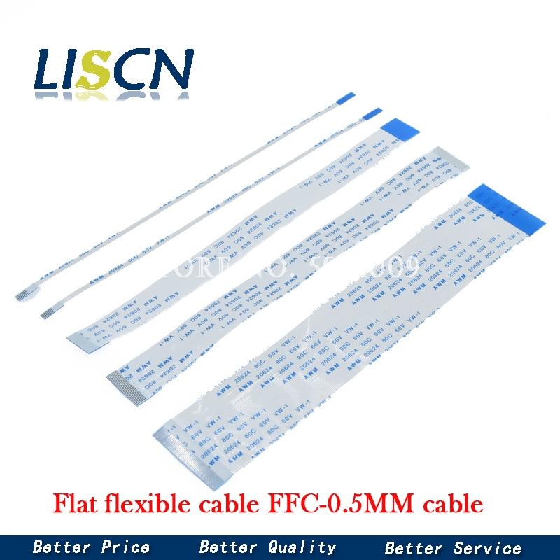 10 шт. плоский гибкий кабель FFC FPC LCD кабель AWM 20624 80C 60 в