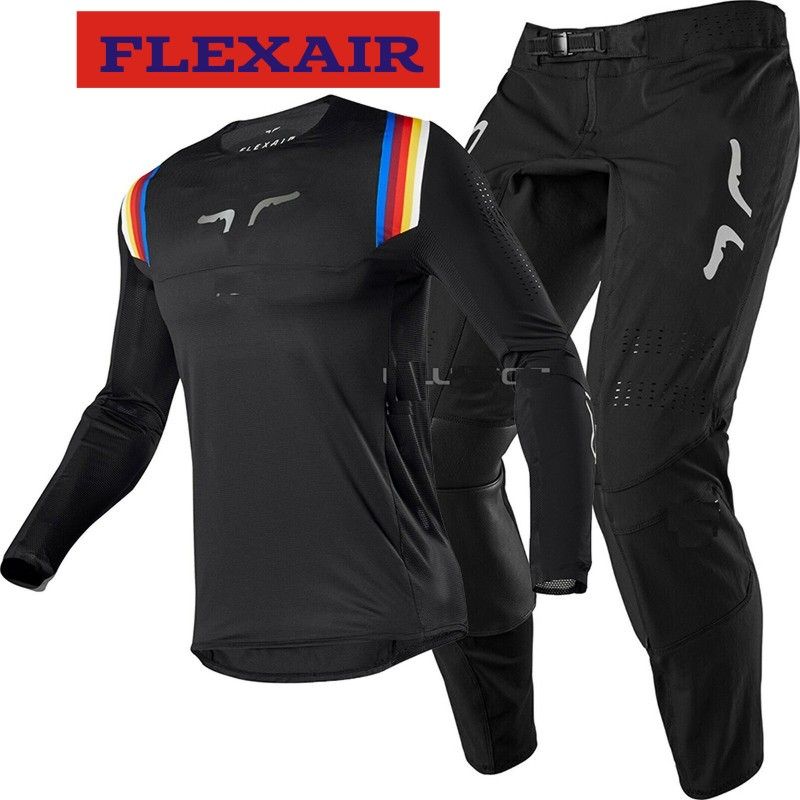 NEW 2020 Rapidly FOX MX 360 Kila Black Jersey Pants Adult Motocross Racing Gear Set Combo ATV Dirt Bike Off Road E FLEXAIR Suit