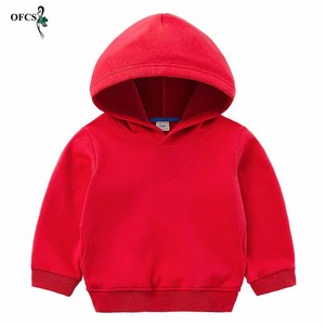 Image 1 - Childrens Hoodies Outerwear Red Yellow Black Blue Teenagers Coat  jacket Girls & Boys Sweatshirt Kids Retail Clothes 2 12 Years