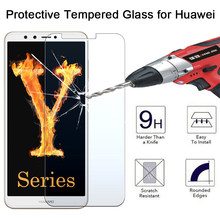 9H Tempered Glass for Huawei Y6 ii Compact Y3 ii Y5 ii Screen Protector for Huawei Y3 Y5 Y6 Pro 2017 Protective Glass Y7 Prime(China)