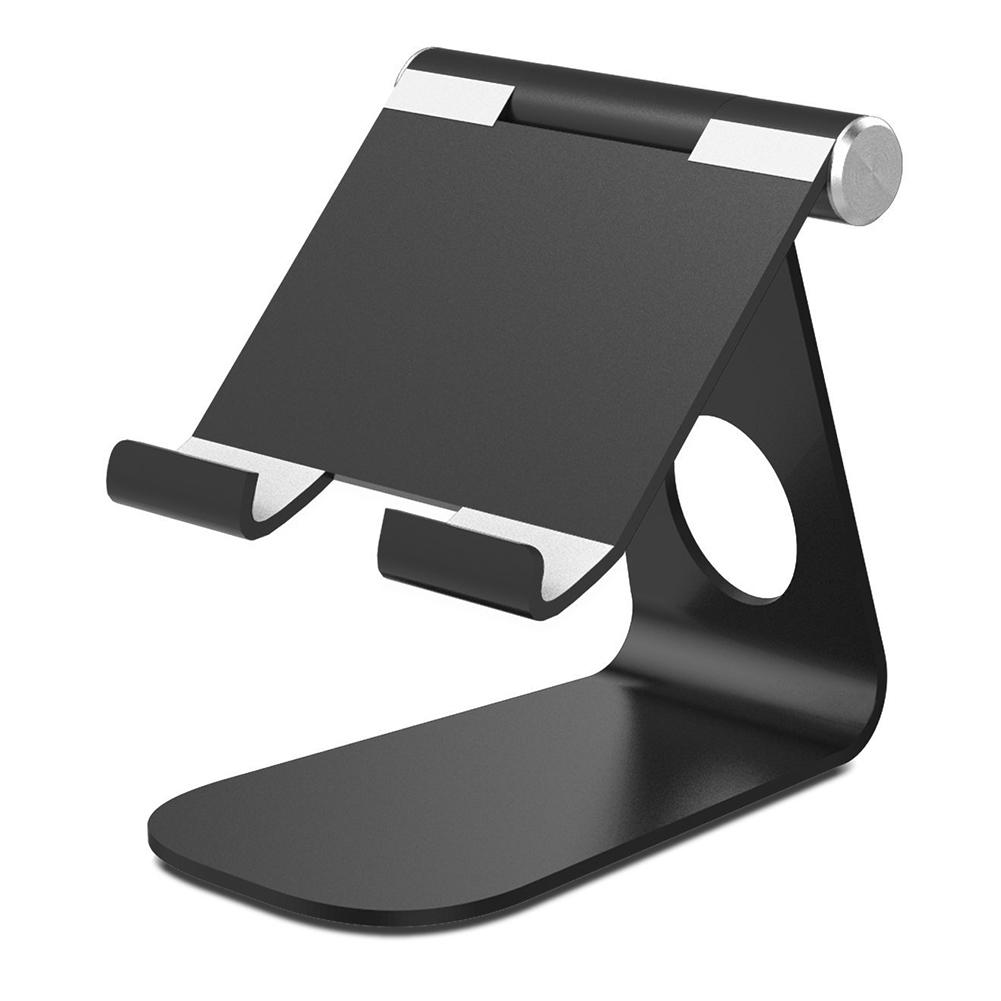 Высококачественный кронштейн для мобильного телефона вращающийся нескользящий регулируемый держатель для планшета алюминиевый устойчив...