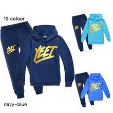 Odzież dla dzieci garnitury z długimi rękawami garnitur chłopcy i dziewczęta bluzy z kapturem na co dzień garnitur 2 sztuka strój sportowy 100-170cm