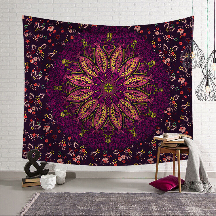 2019 New Fashion Tapestry Wall Hanging Polyester Mandala Pattern Blanket Tapestry Bohemian Blanket