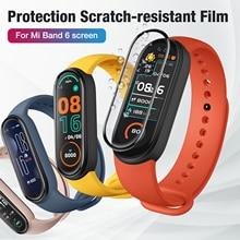 Защитный пленка для Xiaomi Mi Band 6 экран протектор для Xiaomi Mi Band 6 ремешок для часов 6 мягкий TPU пленка для Mi Band 6 Not Glass