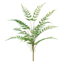 75cm 14 Leaves Large Tropical Palm Plants Artificial Fern Grass Plastic Persian Leafs Real Touch Tree Foliage for Garden Home