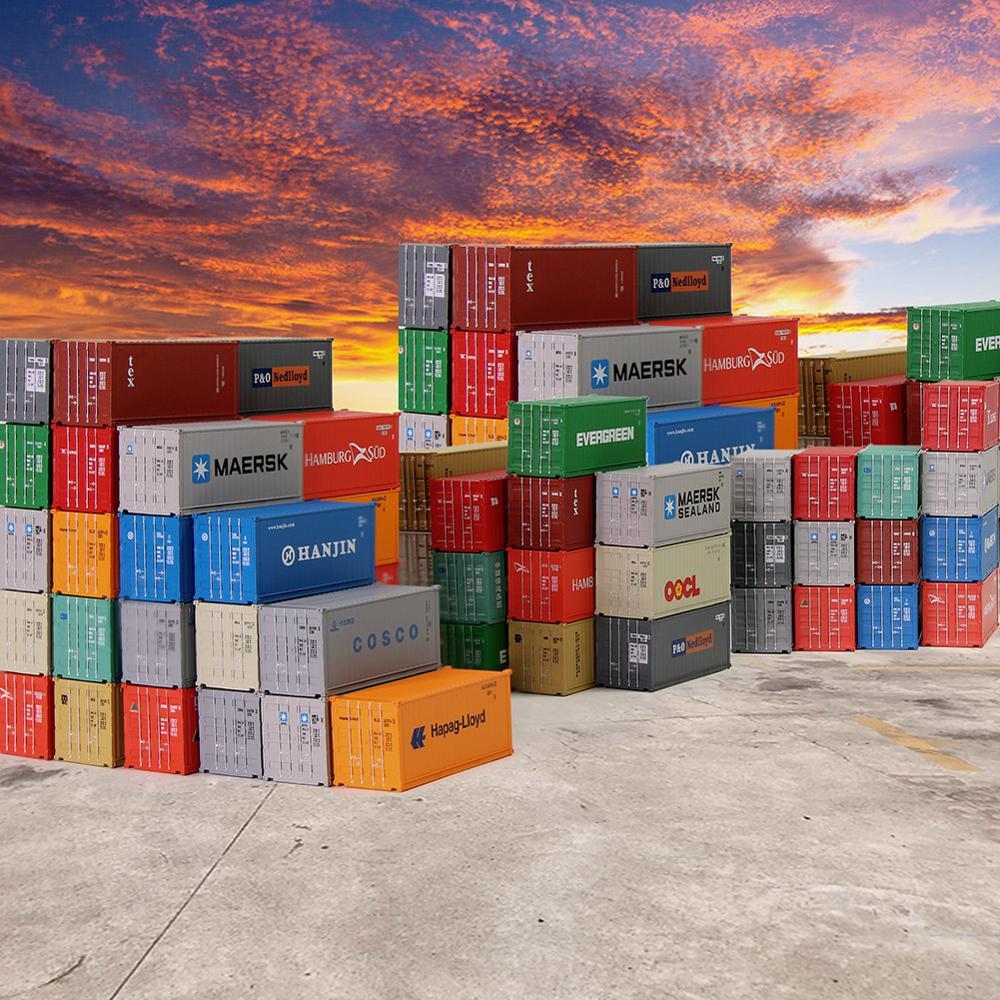 10 stücke 20ft Container Verschiffen 1:150 Container Fracht Autos N Skala Modell Züge C15007-in Modellbau-Kits aus Spielzeug und Hobbys bei  Gruppe 1