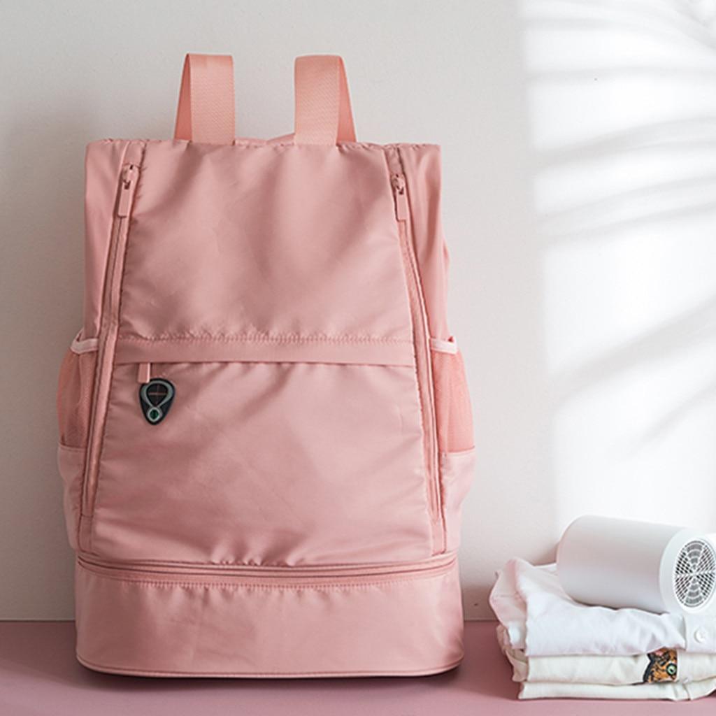 Multifunction Fitness Bag Large Capacity Dry And Wet Separation Sports Bag Shoulder Messenger Bag Couple Handbag Travel